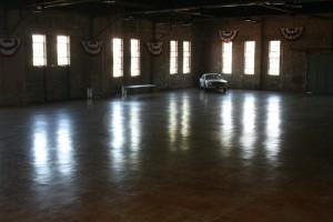 empty hall