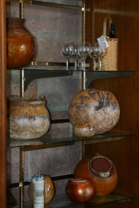 pottery in giftshop
