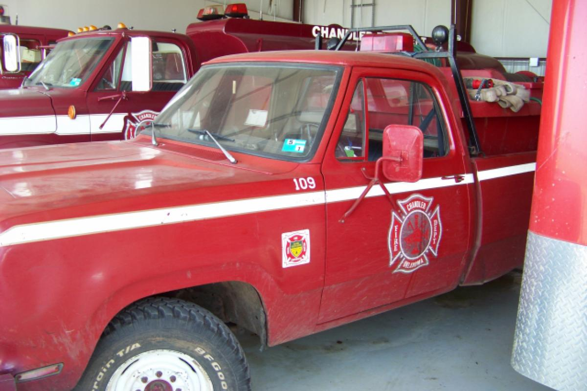 red fire safety vehicle